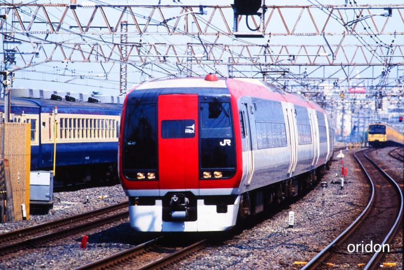 253系成田エクスプレス・市川通過!・RAILRAILRAIL・鉄道写真 ...